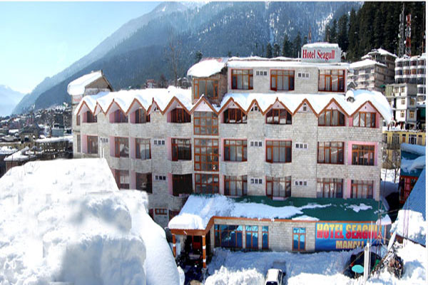 Winter in Manali