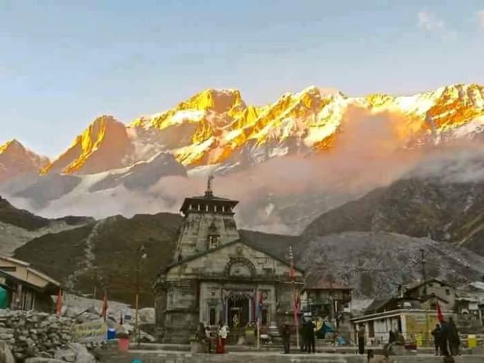 Kedarnath Temple.